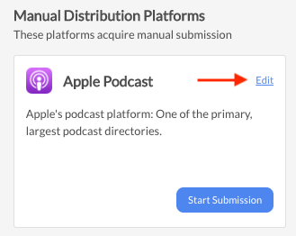 Distribute your podcast on Apple Podcasts through Firstory Hosting