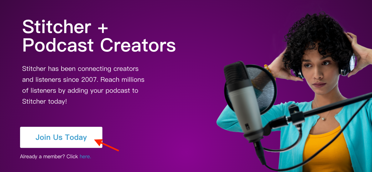 Distribute to Stitcher from Firstory Studio